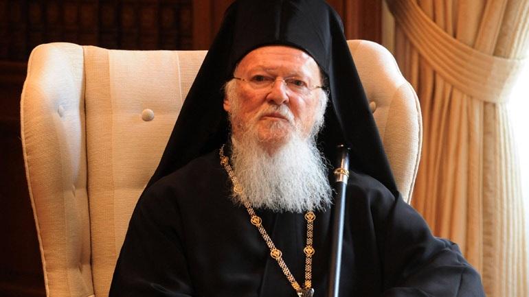 Ο Οικουμενικός Πατριάρχης εξέφρασε τη λύπη του για τις πυρκαγιές